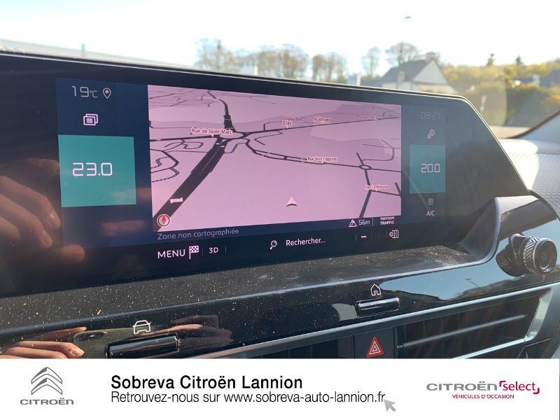 Photo 12 de l'offre de CITROEN C4 Moteur électrique 136ch (100 kW) Feel Pack Automatique à 36400€ chez Sobreva - Citroën Lannion