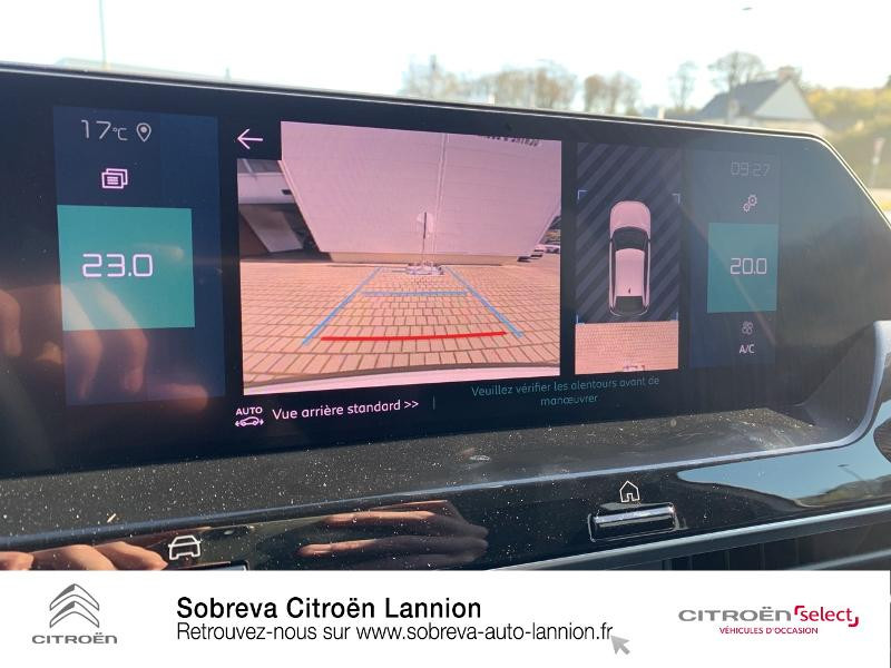 Photo 13 de l'offre de CITROEN C4 Moteur électrique 136ch (100 kW) Feel Pack Automatique à 36400€ chez Sobreva - Citroën Lannion