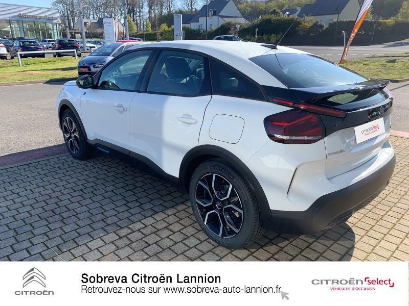 Photo 7 de l'offre de CITROEN C4 Moteur électrique 136ch (100 kW) Feel Pack Automatique à 36400€ chez Sobreva - Citroën Lannion