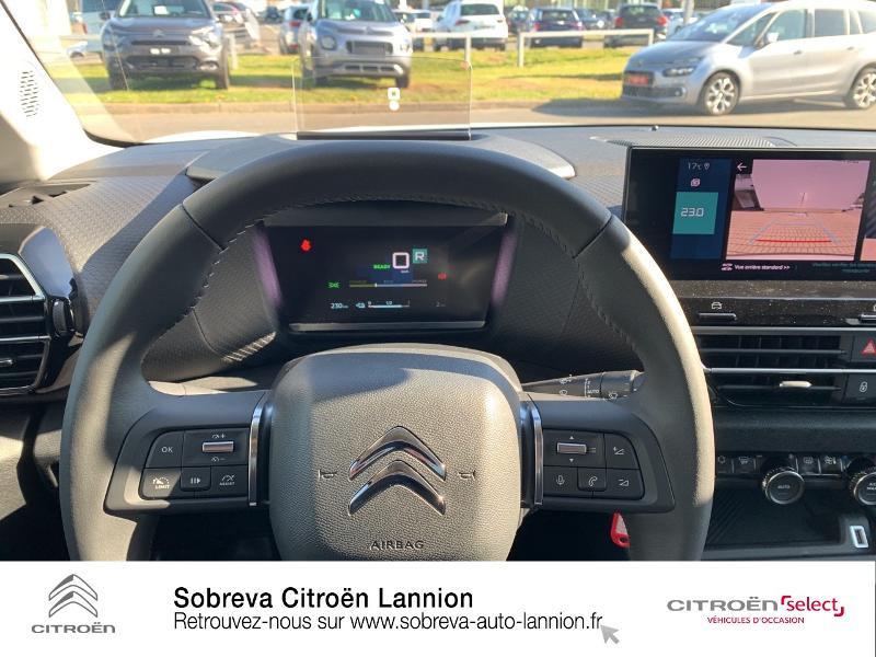 Photo 14 de l'offre de CITROEN C4 Moteur électrique 136ch (100 kW) Feel Pack Automatique à 36400€ chez Sobreva - Citroën Lannion