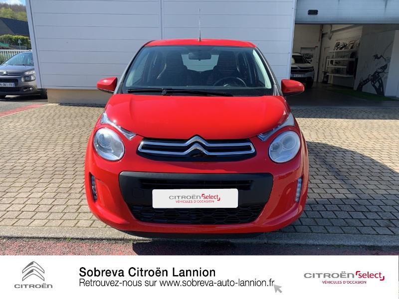 Photo 2 de l'offre de CITROEN C1 VTi 72 S&S Feel 5p E6.d à 12900€ chez Sobreva - Citroën Lannion