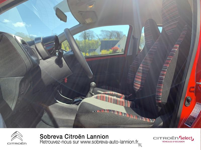 Photo 9 de l'offre de CITROEN C1 VTi 72 S&S Feel 5p E6.d à 12900€ chez Sobreva - Citroën Lannion