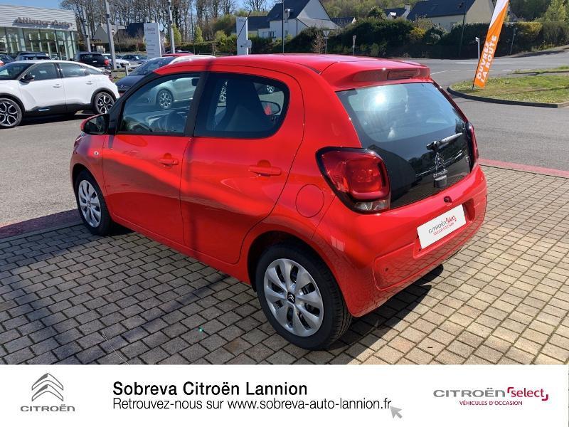 Photo 7 de l'offre de CITROEN C1 VTi 72 S&S Feel 5p E6.d à 12900€ chez Sobreva - Citroën Lannion