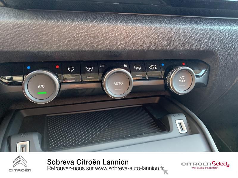 Photo 15 de l'offre de CITROEN C4 Moteur électrique 136ch (100 kW) Feel Pack Automatique à 36400€ chez Sobreva - Citroën Lannion