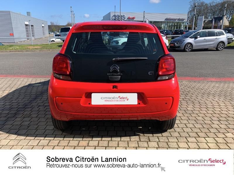 Photo 5 de l'offre de CITROEN C1 VTi 72 S&S Feel 5p E6.d à 12900€ chez Sobreva - Citroën Lannion