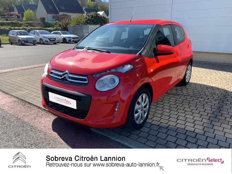 Photo 18 de l'offre de CITROEN C1 VTi 72 S&S Feel 5p E6.d à 12900€ chez Sobreva - Citroën Lannion