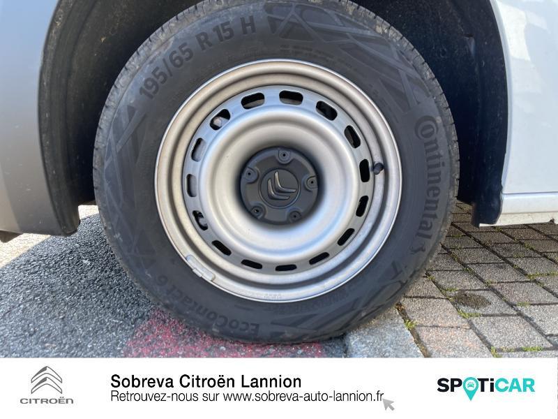 Photo 11 de l'offre de CITROEN Berlingo Van M 650kg BlueHDi 100 S&S Driver à 18490€ chez Sobreva - Citroën Lannion