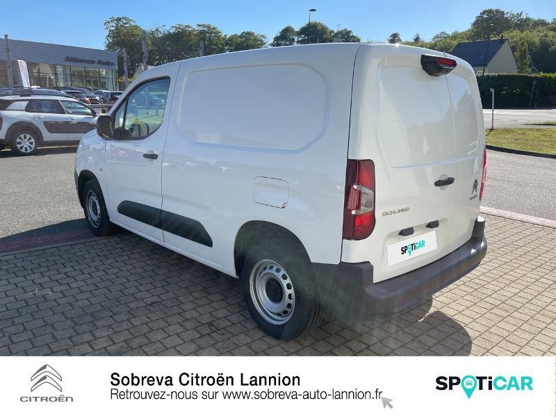 Photo 7 de l'offre de CITROEN Berlingo Van M 650kg BlueHDi 100 S&S Driver à 18490€ chez Sobreva - Citroën Lannion