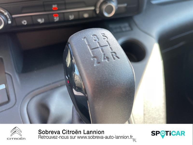 Photo 18 de l'offre de CITROEN Berlingo Van M 650kg BlueHDi 100 S&S Driver à 18490€ chez Sobreva - Citroën Lannion