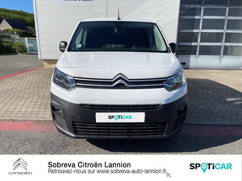 Photo 2 de l'offre de CITROEN Berlingo Van M 650kg BlueHDi 100 S&S Driver à 18490€ chez Sobreva - Citroën Lannion