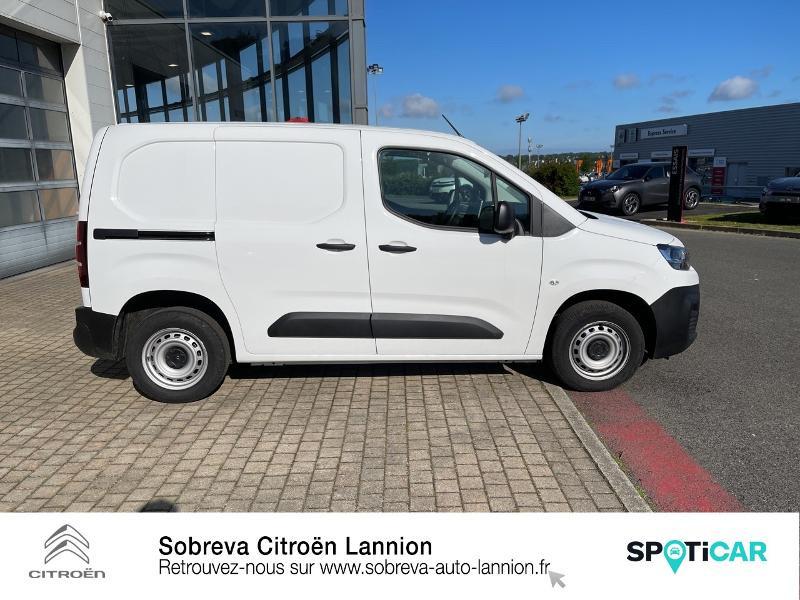Photo 4 de l'offre de CITROEN Berlingo Van M 650kg BlueHDi 100 S&S Driver à 18490€ chez Sobreva - Citroën Lannion