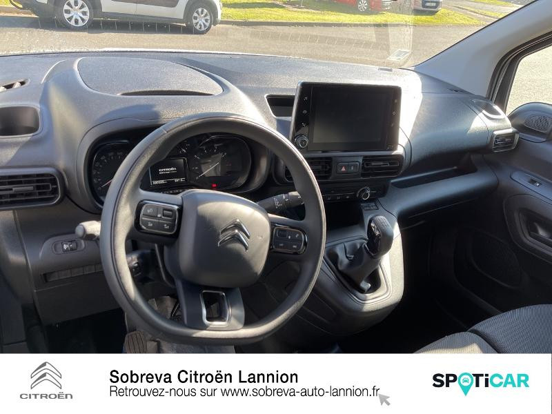 Photo 8 de l'offre de CITROEN Berlingo Van M 650kg BlueHDi 100 S&S Driver à 18490€ chez Sobreva - Citroën Lannion