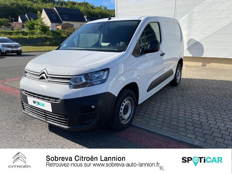 Photo 20 de l'offre de CITROEN Berlingo Van M 650kg BlueHDi 100 S&S Driver à 18490€ chez Sobreva - Citroën Lannion