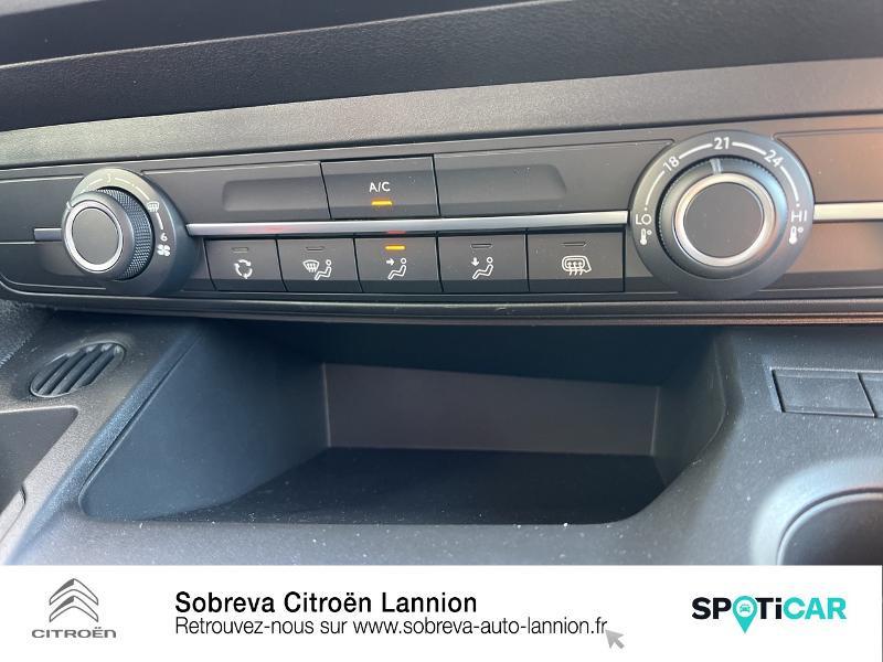 Photo 17 de l'offre de CITROEN Berlingo Van M 650kg BlueHDi 100 S&S Driver à 18490€ chez Sobreva - Citroën Lannion