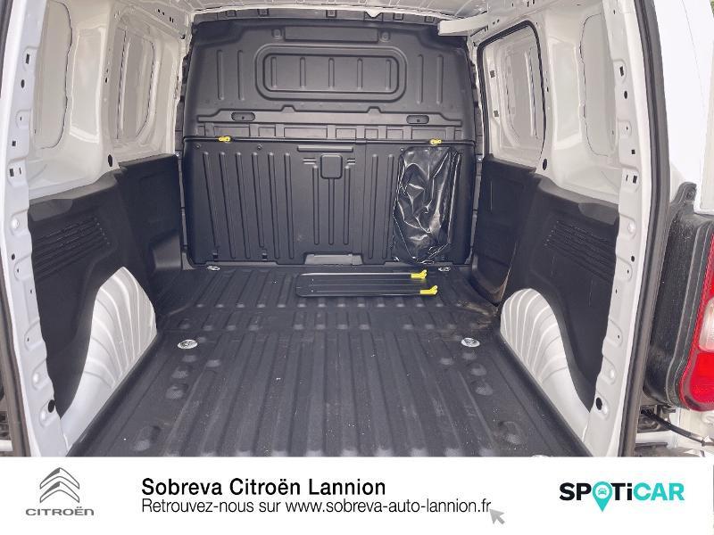 Photo 6 de l'offre de CITROEN Berlingo Van M 650kg BlueHDi 100 S&S Driver à 18490€ chez Sobreva - Citroën Lannion