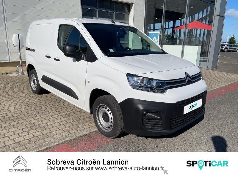 Photo 3 de l'offre de CITROEN Berlingo Van M 650kg BlueHDi 100 S&S Driver à 18490€ chez Sobreva - Citroën Lannion