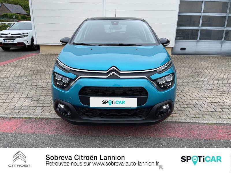 Photo 2 de l'offre de CITROEN C3 1.5 BlueHDi 100ch S&S Shine Pack E6.d à 19990€ chez Sobreva - Citroën Lannion