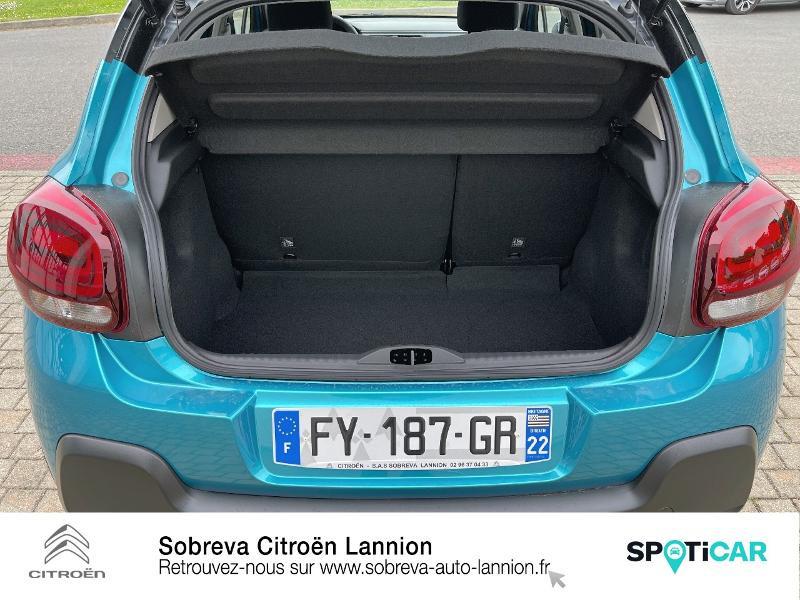 Photo 6 de l'offre de CITROEN C3 1.5 BlueHDi 100ch S&S Shine Pack E6.d à 19990€ chez Sobreva - Citroën Lannion