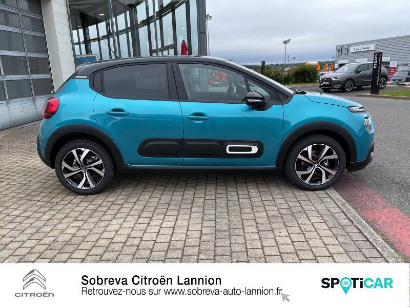 Photo 4 de l'offre de CITROEN C3 1.5 BlueHDi 100ch S&S Shine Pack E6.d à 19990€ chez Sobreva - Citroën Lannion