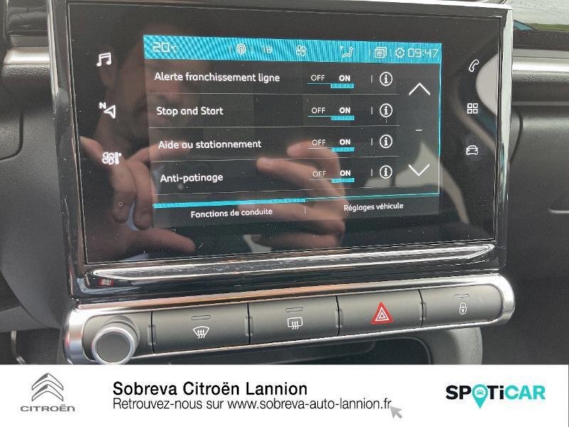 Photo 14 de l'offre de CITROEN C3 1.5 BlueHDi 100ch S&S Shine Pack E6.d à 19990€ chez Sobreva - Citroën Lannion