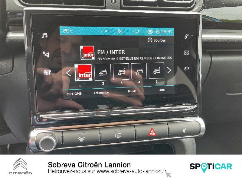 Photo 12 de l'offre de CITROEN C3 1.5 BlueHDi 100ch S&S Shine Pack E6.d à 19990€ chez Sobreva - Citroën Lannion