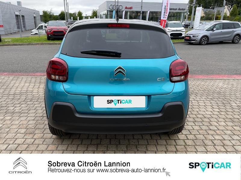 Photo 5 de l'offre de CITROEN C3 1.5 BlueHDi 100ch S&S Shine Pack E6.d à 19990€ chez Sobreva - Citroën Lannion