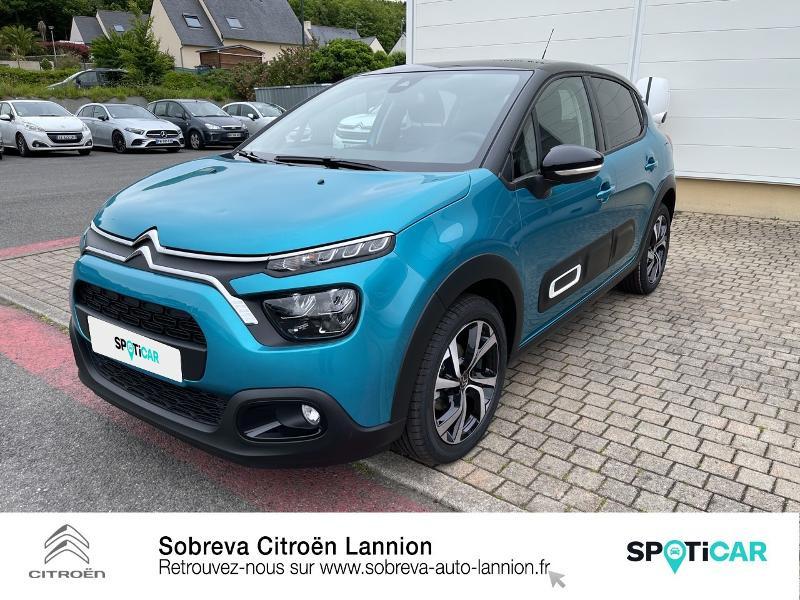 Photo 20 de l'offre de CITROEN C3 1.5 BlueHDi 100ch S&S Shine Pack E6.d à 19990€ chez Sobreva - Citroën Lannion