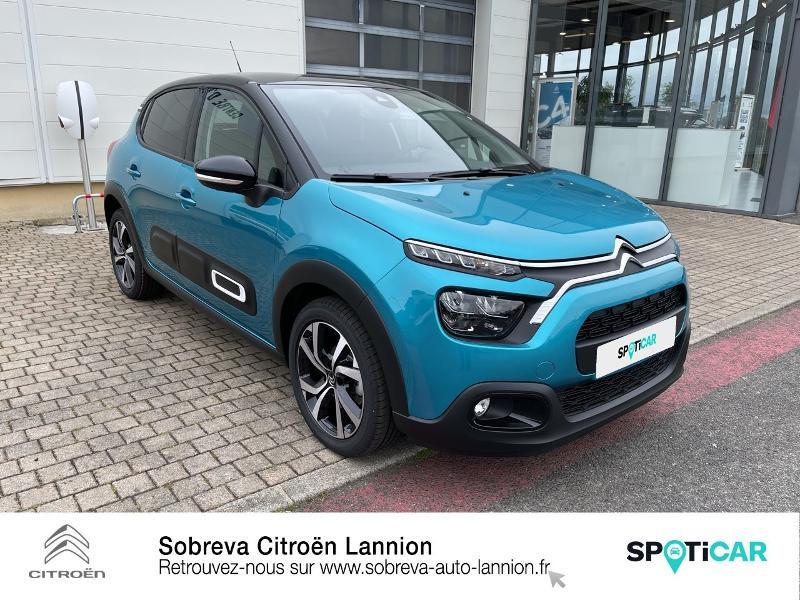 Photo 3 de l'offre de CITROEN C3 1.5 BlueHDi 100ch S&S Shine Pack E6.d à 19990€ chez Sobreva - Citroën Lannion