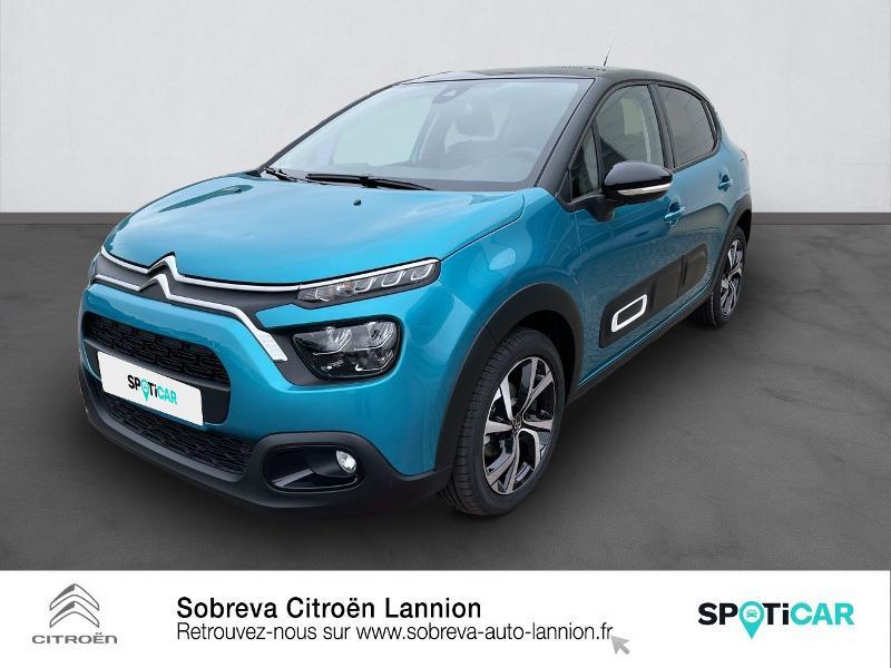 Photo 1 de l'offre de CITROEN C3 1.5 BlueHDi 100ch S&S Shine Pack E6.d à 19990€ chez Sobreva - Citroën Lannion