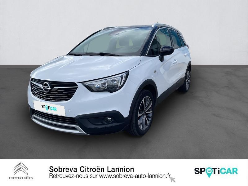 Opel Crossland X 1.2 Turbo 110ch Innovation BVA Essence gris Occasion à vendre