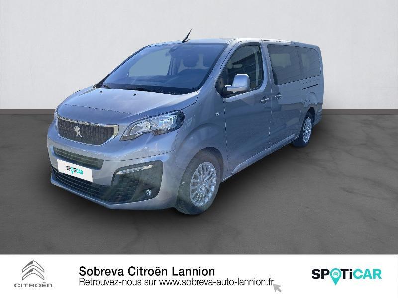 Peugeot Traveller 2.0 BlueHDi 145ch S&S Long Business EAT8 9 Places Diesel GRIS ARTENSE Occasion à vendre