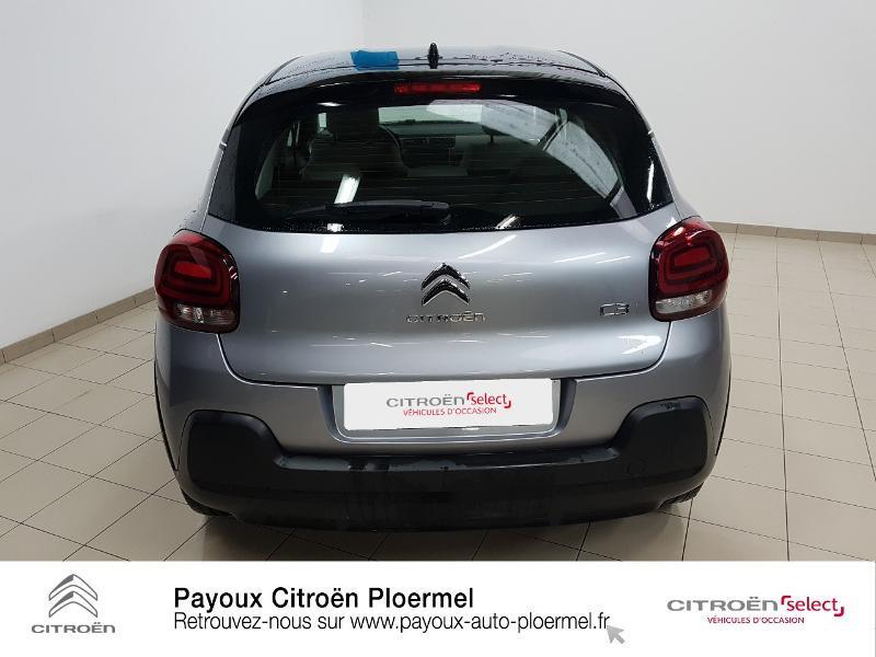 Photo 5 de l'offre de CITROEN C3 PureTech 82ch Shine S&S E6.d à 14490€ chez Garage Payoux - Citroën Ploermel