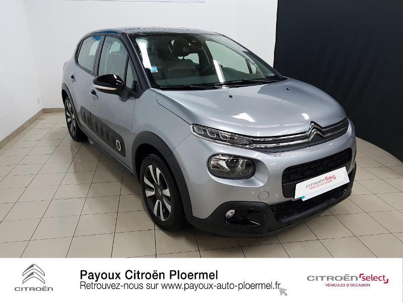 Photo 3 de l'offre de CITROEN C3 PureTech 82ch Shine S&S E6.d à 14490€ chez Garage Payoux - Citroën Ploermel