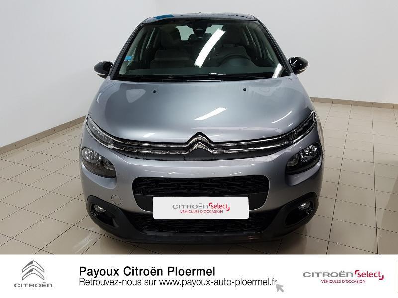 Photo 2 de l'offre de CITROEN C3 PureTech 82ch Shine S&S E6.d à 14490€ chez Garage Payoux - Citroën Ploermel