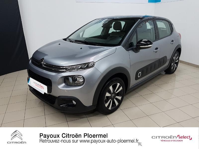 Photo 21 de l'offre de CITROEN C3 PureTech 82ch Shine S&S E6.d à 14490€ chez Garage Payoux - Citroën Ploermel