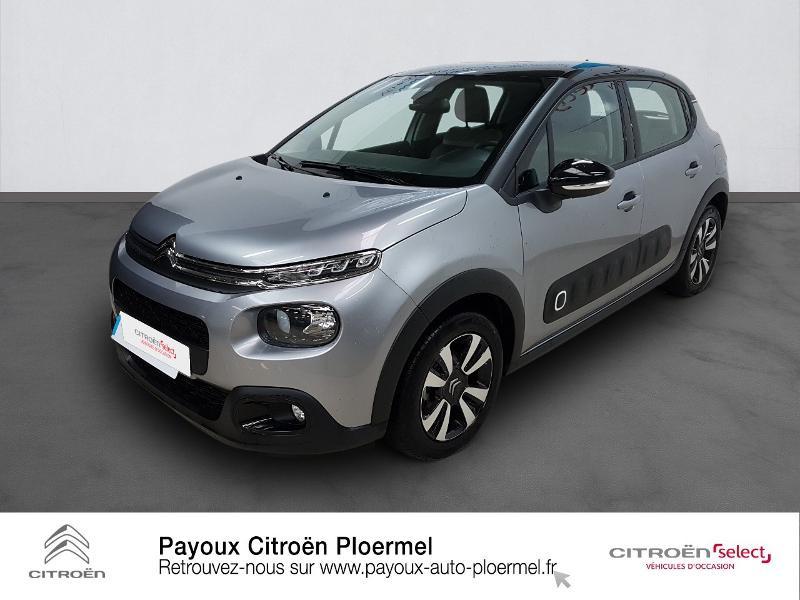 Photo 1 de l'offre de CITROEN C3 PureTech 82ch Shine S&S E6.d à 14490€ chez Garage Payoux - Citroën Ploermel