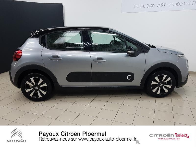 Photo 4 de l'offre de CITROEN C3 PureTech 82ch Shine S&S E6.d à 14490€ chez Garage Payoux - Citroën Ploermel