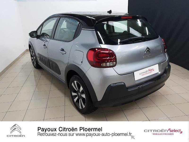 Photo 7 de l'offre de CITROEN C3 PureTech 82ch Shine S&S E6.d à 14490€ chez Garage Payoux - Citroën Ploermel