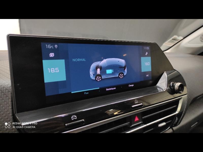 Photo 11 de l'offre de CITROEN C4 Moteur électrique 136ch (100 kW) Feel Pack Automatique à 36990€ chez Garage Payoux - Citroën Ploermel