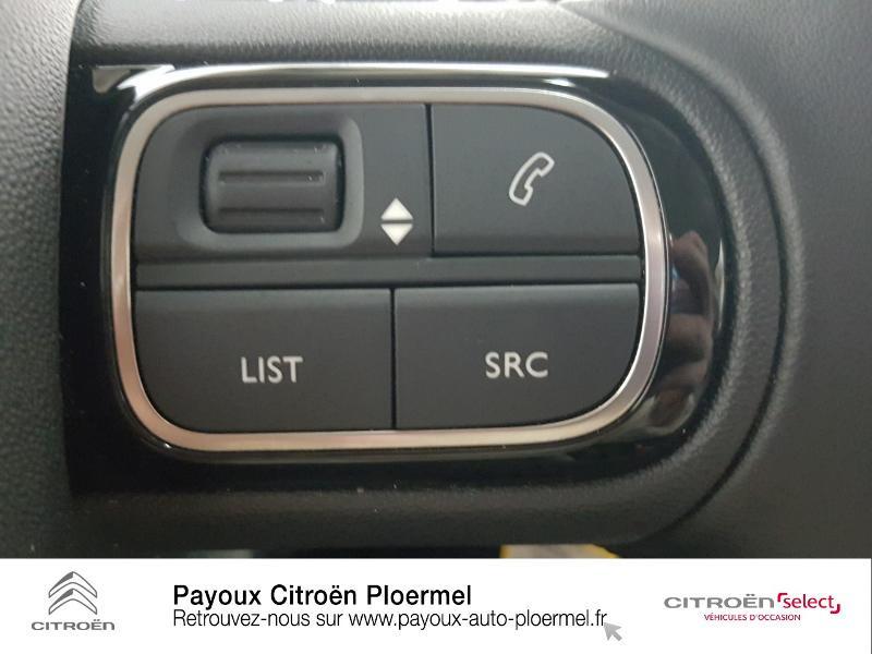 Photo 16 de l'offre de CITROEN C3 PureTech 82ch Shine S&S E6.d à 14490€ chez Garage Payoux - Citroën Ploermel