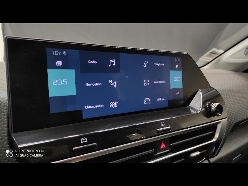 Photo 24 de l'offre de CITROEN C4 Moteur électrique 136ch (100 kW) Feel Pack Automatique à 36990€ chez Garage Payoux - Citroën Ploermel