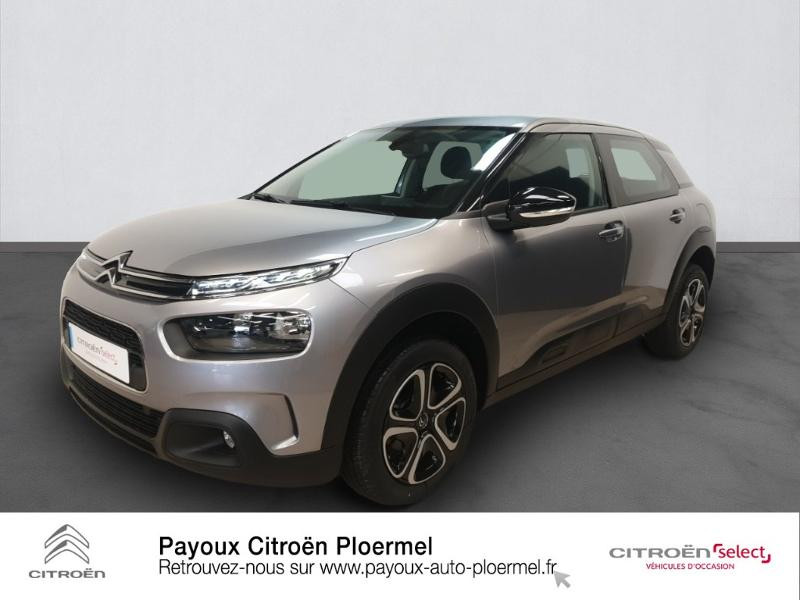 Photo 1 de l'offre de CITROEN C4 Cactus BlueHDi 100ch S&S Feel E6.d à 17980€ chez Garage Payoux - Citroën Ploermel