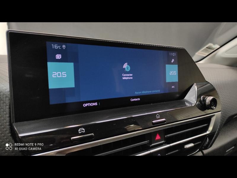 Photo 25 de l'offre de CITROEN C4 Moteur électrique 136ch (100 kW) Feel Pack Automatique à 36990€ chez Garage Payoux - Citroën Ploermel