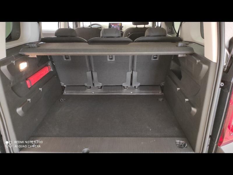 Photo 10 de l'offre de CITROEN Berlingo M BlueHDi 100ch S&S Feel Pack à 24990€ chez Garage Payoux - Citroën Ploermel