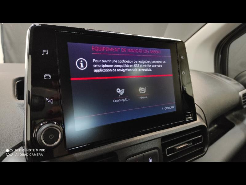 Photo 11 de l'offre de CITROEN Berlingo M BlueHDi 100ch S&S Feel Pack à 24990€ chez Garage Payoux - Citroën Ploermel
