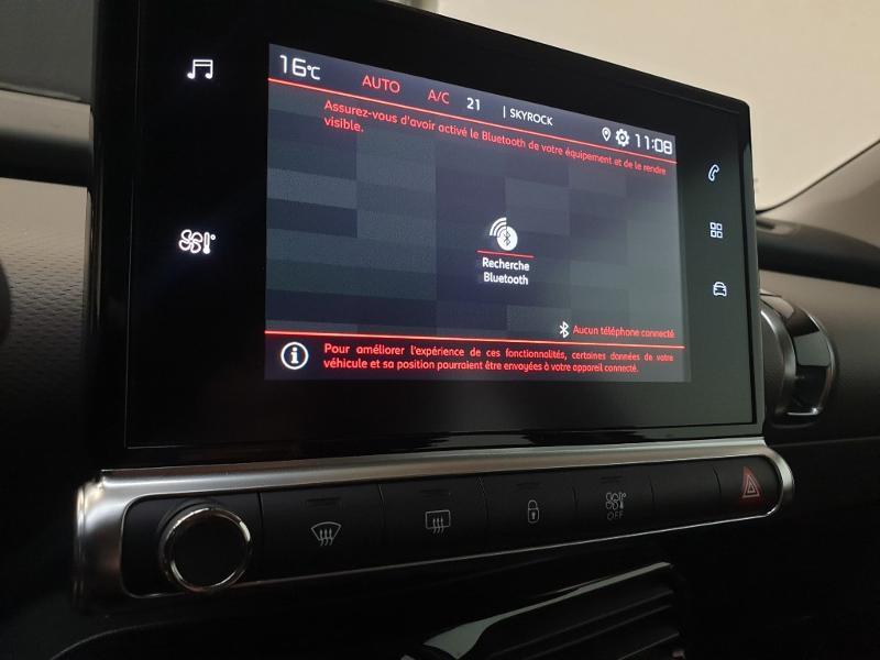 Photo 16 de l'offre de CITROEN C4 Cactus BlueHDi 100ch S&S Feel E6.d à 17980€ chez Garage Payoux - Citroën Ploermel