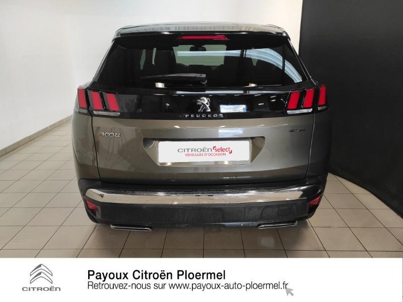 Photo 5 de l'offre de PEUGEOT 3008 1.5 BlueHDi 130ch E6.c GT Line S&S EAT8 à 30490€ chez Garage Payoux - Citroën Ploermel