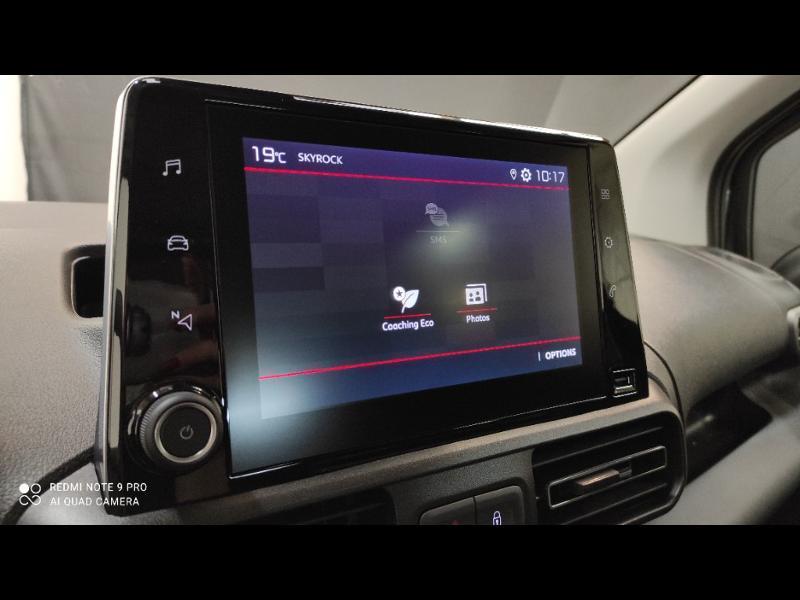Photo 21 de l'offre de CITROEN Berlingo M BlueHDi 100ch S&S Feel Pack à 24990€ chez Garage Payoux - Citroën Ploermel