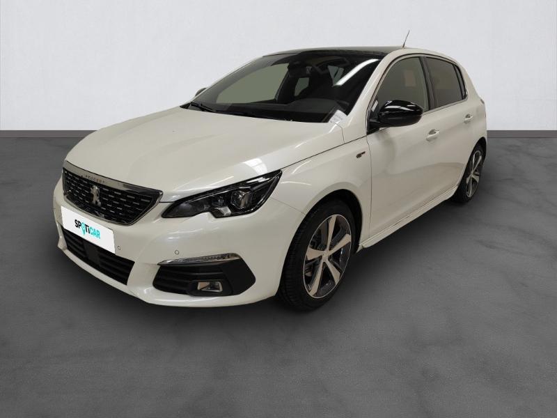 Peugeot 308 1.5 BlueHDi 130ch S&S GT EAT8 Diesel Blanc Métal Occasion à vendre