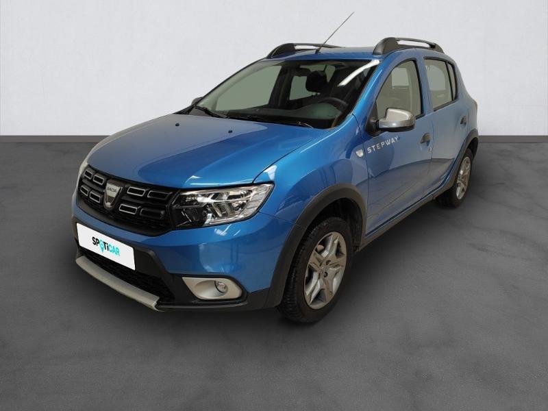 Dacia Sandero 0.9 TCe 90ch Stepway -18 Essence Bleu Clair Métal Occasion à vendre